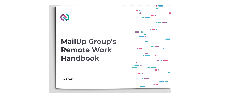 MailUp Group's Remote Work Handbook